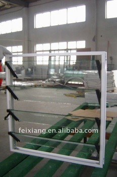 Aluminum Louvered windows, Glass Louvered window