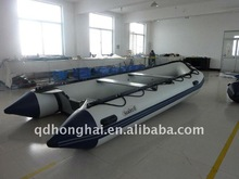 CEhh-s300 rowing inflatable boat with pvc aluminum floor
