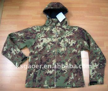 camo hunting jacket