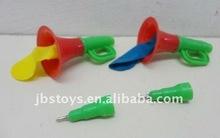 plastic trumpet with pen toys item in OPP bag TI11110040