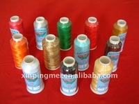 polyester embroidery thread,moon embroidery thread,trilobal polyester embroidery thread