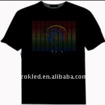 LED Glowing T-shirt