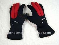 HSQS003 kevlar diving gloves
