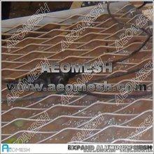 Metal expandido esgrima de malla de tela