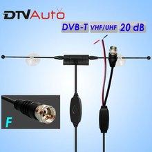 free order sample Digital DVB-T car film tv antena