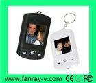 mini photo frame keychain 1.5 inch LCD screen