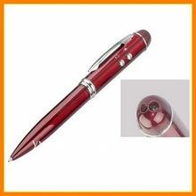 exquisite 3D translucent re lacquer laser pointer pen/led pen/best promotional pen