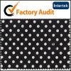 cotton white polka dot fabric