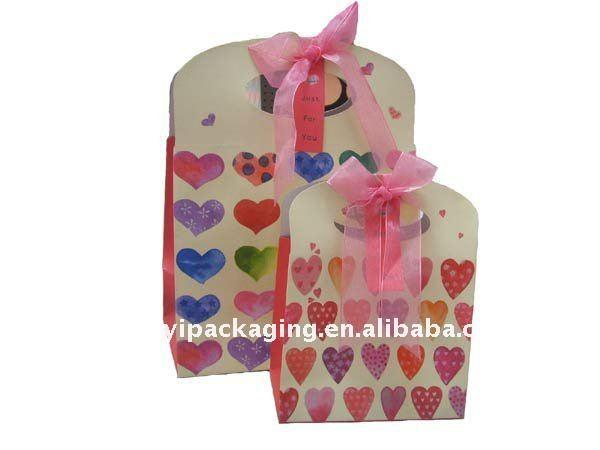papel colorido sacos do almoço