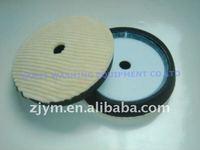 """6"""" Hollowed Wool+ foam loop round pad"""