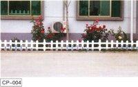 MT white plastic steel fence manufacturer
