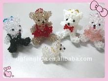 2012 Fashion fairy crystal bead bear