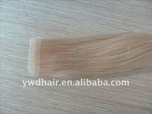2011 hot sale long time last remy tape hair extension