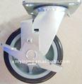 muebles carretilla industrial del hospital cama de ruedas ruedas