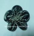 Nueva baratos de flores de raso para calzado princesa/sombrero decoración( y365)