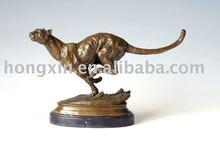 AL-078 animal sculpture leopard animal bronze sculpture leopard statue