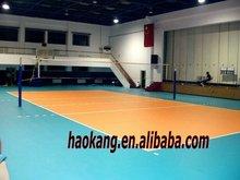 Indoor PVC vinyl volleyball court sports flooring