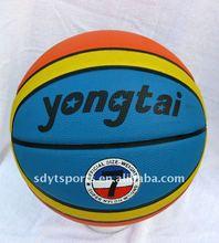 cheap rubber basketball, deep channel basketball,
