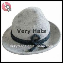 unisex fashion 100% wool felt Traditional Bayern German Bavarian Hat