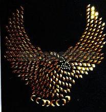 eagle sequins motif /eagle hot fix transfer motif
