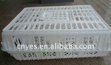 White plastic chicken cage L750*W550*H270MM