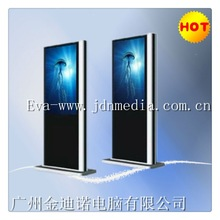 Ultra slim network system LCD advertising player
