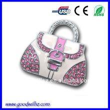 Hotsale Diamond Bag USB Flash Drive 2.0