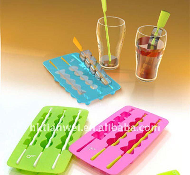 fashion grape shaped silicone ice tray