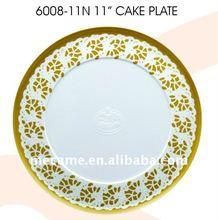"""6008-11N 11"""" Melamine CAKE PLATE DIA28*H0.8 205G"""