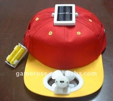 Solar Fan Cap (Dual Power)