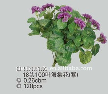 High Quality Evergreen Decoration Artificial Flowers