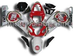 ABS Motorcycle Fairings For Suzuki GSX-R 600 / 750 K4 2004 2005