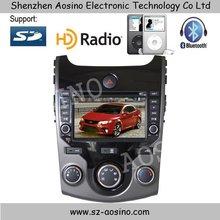 Aosino KIA CERATO car dvd /car radio 7inch touch screen with gps navigation