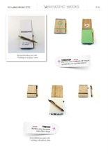 Eco friendly Bamboo cover notebook (Item No: TBB003)