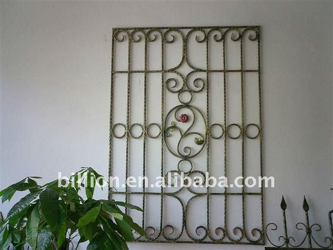 Hierro forjado ventana protector-Rejas para puertas y ventanas ...