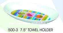 """500-3 7.5"""" TOWEL Kitchen HOLDER L19*W10.5*H2.3cm 60G"""