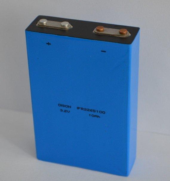 Dison primatic phosphate 3.2v 10Ah LiFePo4 lithium li-ion electric vehicle battery