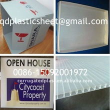 PP Hollow Board / Plastic Fluted Sheet