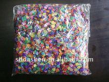 colorful paper confetti