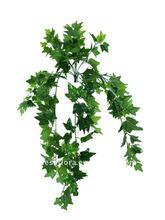 decorative artificial green rattan