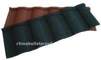 new metal tile roof