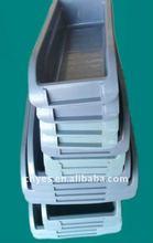 Plastic wall mounted storage bin L395*W143*H88MM