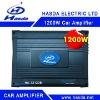 24V 1200W 4 Channel Bridgeable bluetooth Car Amplifier