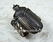 Egyptian Scarab Ring Large Ring Unisex