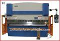 Alumínio máquina de dobra, automática máquina de dobrar estribo wc67y-100t/ 2500 com e200 cnc sistema de controle