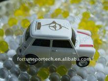 8GB white toy car usb drives, usb pendrive, usb sticks