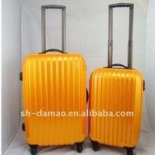 super light fashion portable travel trolley abs+pc luggage