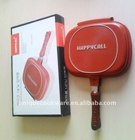 happy call double sided frying pan