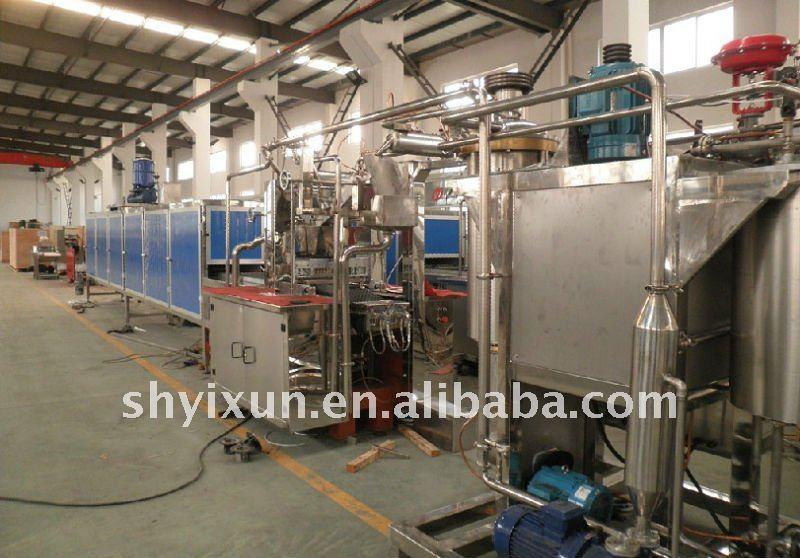 Yx 300 caramelo/gummy/gelatina de maquinaria de producción