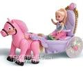 Mini roues de chariot de jouet de poupée